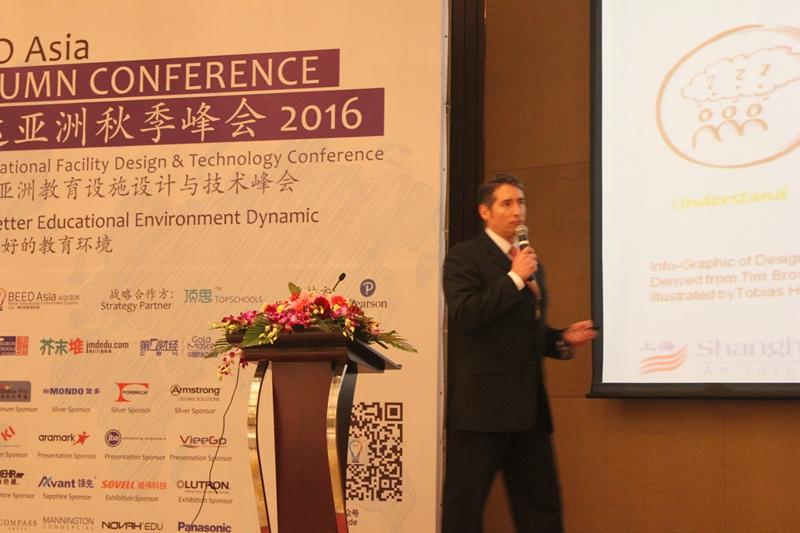 上海美国学校设施总监Christoper D.Levesque