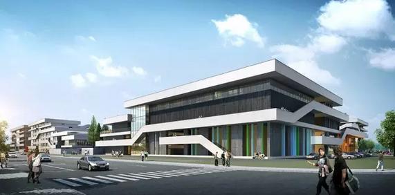 宁波赫威斯肯特国际学校,学校设计,学校建设,必达亚洲