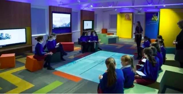 教室科技,沉浸式学习空间,伦敦知名私校,互动教室