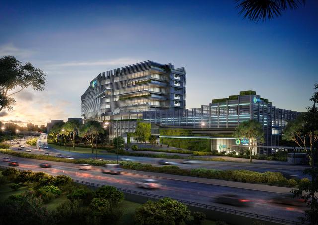 宝麦蓝新加坡Nexus国际学校设计