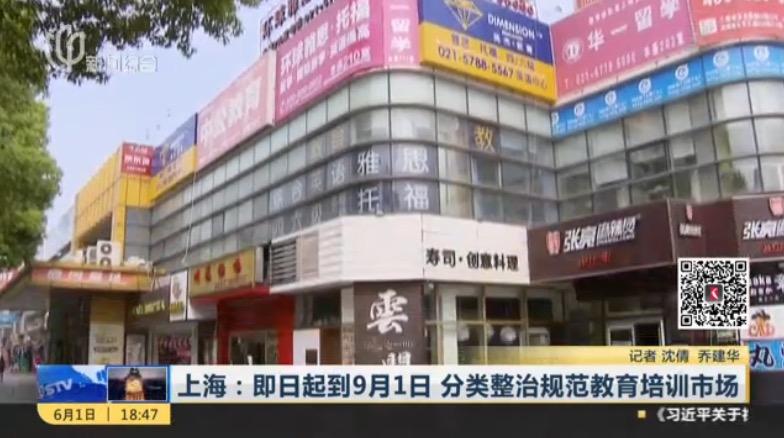 上海培训机构,培训机构整改