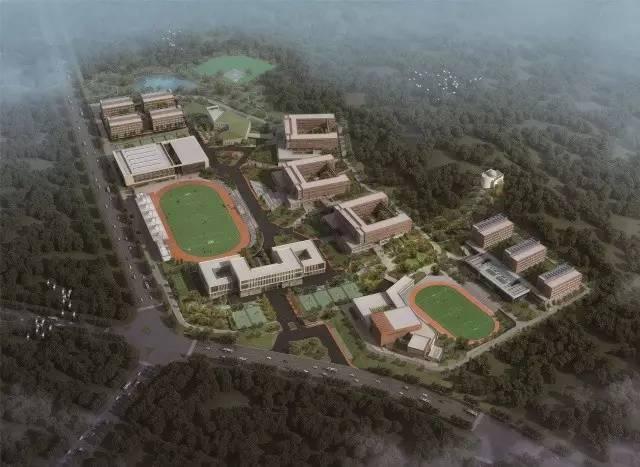 威海市一中新校区,学校设计,学校建设,学习环境