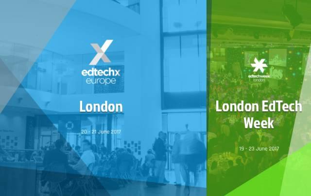 人工智能教育,教育技术,伦敦教育科技展